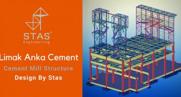 Stas Engineering design Limak ANKA Cement Plant (5000 TPD).